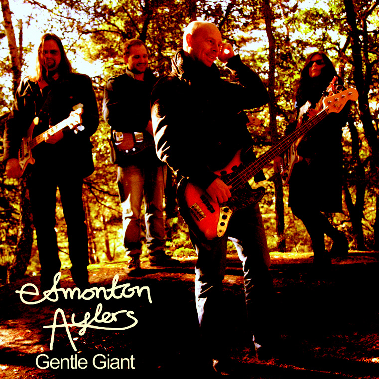 "Edmonton Aylers: ""Gentle Giant"" (album cover)"
